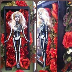 Day of the dead Barbie by Susie H
