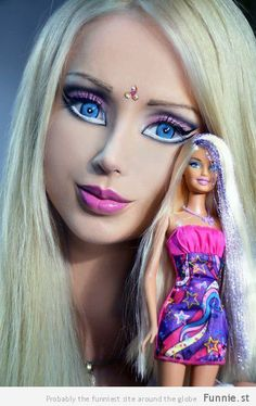 Yes That's A Real-Life Human Barbie (100 Photos)