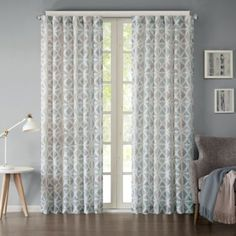 Ink + Ivy Hawthorne Rod Pocket Window Curtain Panel - BedBathandBeyond.com