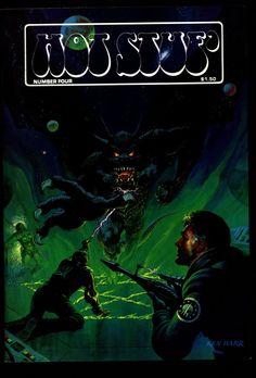 HOT STUF' #4 Alex Toth Colon Strnd Kline Vosburg Arnold Ken Barr Illustrated SF Horror Fantasy Illustration Mature Comics Art*