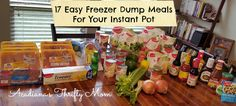 17 Easy Freezer Dump Meals For Your Instant Pot