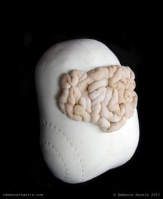 © Rebecca Harris, 2013, soft sculpture, inspired by biomedical interventions into the obese body