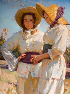 "Another wonderful painting by Dan Gerhartz. ""Sugar and Spice"" 48x36"
