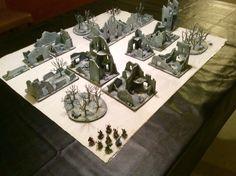 Frostgrave set up