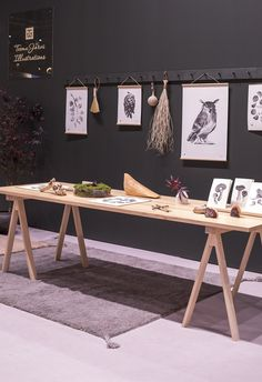 Teemu Järvi Habitare 2019 – Marjamailla Office Desk, Designers, Illustration, Furniture, Home Decor, Homemade Home Decor, Desk, Illustrations, Home Furnishings