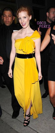 this yellow dress is to die for