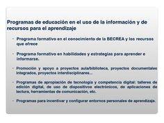 ISSUU - Programas de educación en el uso de la información by BECREA Málaga