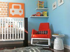 Avalisa Design Canvas Nursery Art --  LOVE all the elements of this nursery