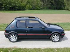 1992 Peugeot 205 GTI 1.9 in Sorrento Green - required in my garage!