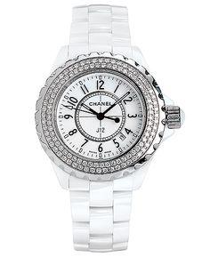 Chanel diamond set ladies watch