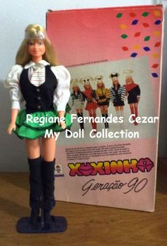 My Dolls Collection: Xuxinha Geração 90, Mimo, 1991 #boneca #xuxa #mimo