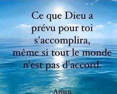 Positive Inspiration, Spiritual Inspiration, Positive Attitude, Positive Vibes, Quotes About God, Love Quotes, French Quotes, Life Words, Self Motivation