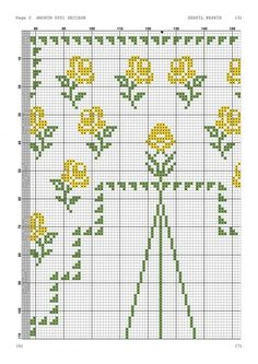 Cross Stitch, Roses, Table Linens, Needlepoint, Punto De Cruz, Pink, Seed Stitch, Rose, Punto Croce
