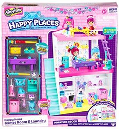 Happy Places Shopkins Happy Home Laundry And Games Room S...