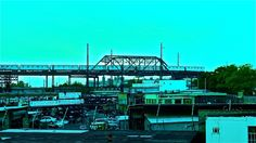 The cool side of the River — at Hunts Point Bronx NY