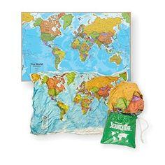 World Scrunch Map