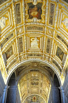 Ceiling at Dooge's Palace, Venice, Italy