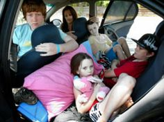 Over 800 mothers and their children are living out of their cars in El Paso County.