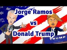 Jorge Ramos vs Donald Trump - YouTube