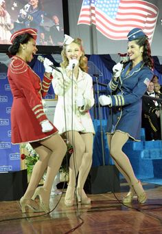 USO Dancers... LOVE this!!!