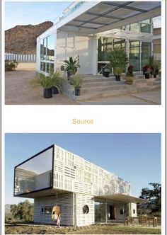 Cool container homes