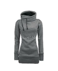 New Fahion Soft High Quality Pure Color Slim Hoodie: jewelhall.com