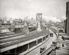 Shorpy Historical Photo Archive :: Brooklyn Terminal: 1903