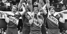 """Organized #cheerleading started as an all-male activity. As early as 1877, #Princeton University had a """"Princeton Cheer"""", documented in the February 22, 1877, March 12, 1880, and November…#fact"""