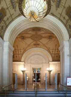 The Cleveland Public Library, 1925, Walker & Weeks, architects