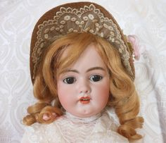 Simon & Halbig German Bisque Head Doll 1079