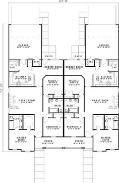 Duplex that doesn 39 t look like a duplex could we add the for Duplex plans for corner lots