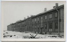 Uued elamud Lasnamäel, Majaka tänava risttänaval majade rida.