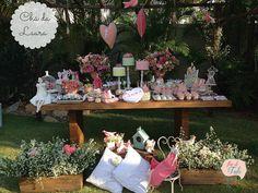 Festa Tilda vintage - chá da Laura | Flickr - Photo Sharing! O chá da Laura recebeu um toque todo especial com bonecas Tilda e mimos do Atelier Flor de tule