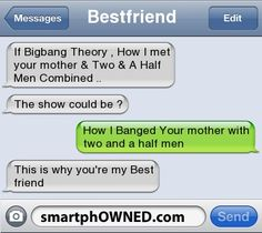 Funny text messages with your bestie