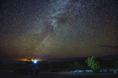 Big Bend Texas: it's an International Dark Sky Park, one of only 10 in the whole world certified for dark sky stargazing-- it's the best park in the lower 48 for astronomers to check out the Milky Way, planets, stars, and more.