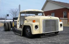 Just cool, chopped and bagged old international semi