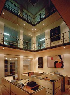 Fundación Santillana - Sede TIMÓN. allende arquitectos. Madrid 1993. Mención de honor VIII edición Premios de Urbanismo, Arquitectura y Obra Pública del Ayuntamiento de Madrid