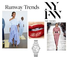 """Hottest NYFW Runway Trend"" by officialrt ❤ liked on Polyvore featuring Michael Kors"