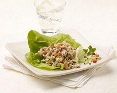 Thai Turkey Wraps | #lowfat #carbconscious #sodiumsmart #turkey #wraps | http://www.jennieo.com/recipes/491-Thai-Turkey-Wraps