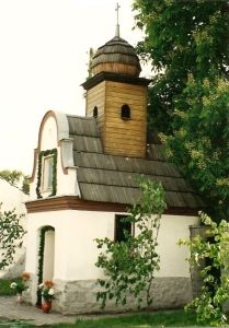 Wayside chapel, somewhere in Poland