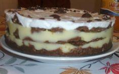 Érdekel a receptje? Kattints a képre! Hungarian Recipes, Hungarian Food, No Bake Treats, Tiramisu, Ale, Pudding, Favorite Recipes, Sweets, Baking