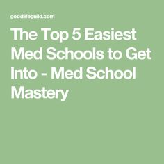 Awesome Medical Schools That Accept Low Mcat Scores  Low Gpa