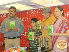 To commemorate the occasion of World Tiger Day, Oxford Bookstore and TERI Books organized the launch of Eighteen Tides and a Tiger by Anjana Basu.