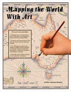 Mapping the World with Art. I'm very impressed with this program, and it's a great complement to Classical Conversations Challenge A geography strand. I'm having my 8 and 13yos watch the videos and draw together.