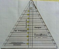 Molly Flanders: Pyramid Quilt
