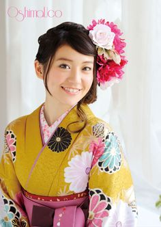 "Yuko Oshima for OshimaUCo kimonos. There is more Yuko on my board ""Yuko Oshima"", for   various AKB48 outfits & costumes. DS"