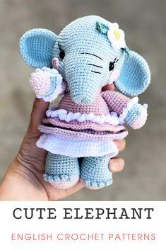Crochet Deer, Crochet Bunny Pattern, Diy Crochet And Knitting, Crochet Animal Patterns, Crochet Patterns Amigurumi, Stuffed Animal Patterns, Knitting Toys, Crochet Dolls, Doll Patterns