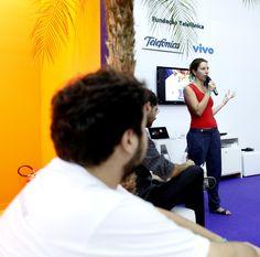 Cristina Fillizola da Aliança Empreendedora fala sobre a ferramenta Canvas.