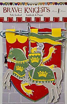 Meri Meri Girlande - Brave Knights / Ritter von Meri Meri, http://www.amazon.de/dp/B007FUNKUK/ref=cm_sw_r_pi_dp_08yQtb1SSJTAW