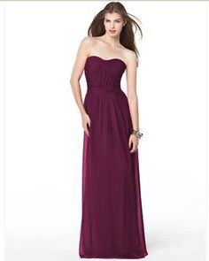 Dessy 2834.....Bridesmaid / Formal Dress.....Ruby....Sz 12
